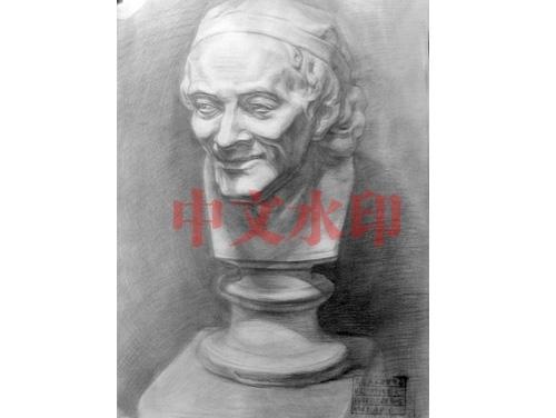 素描静物石膏像